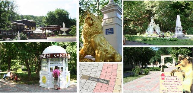 Через 40 километров после Краснодара планируем остановку в Горячем Ключе где вас ждут сувениры, мед, лечебные травы, целебная вода и чистейший воздух