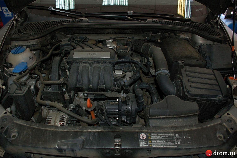 крышка двигателя для skoda octavia 1.6