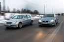 Mercedes отличается более традиционным дизайном...