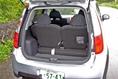 Если открыть заднюю дверь багажника, с первого взгляда покажется, что сидения второго ряда ничем особенным не отличаются. Однако на самом деле базовая модель и модель Ralliart имеют 5-местную компоновку салона, а ее спортивная разновидность Ralliart Version R  - только 4-местную. То есть, сидение второго ряда рассчитано в данном случае на двоих, а не на троих пассажиров.