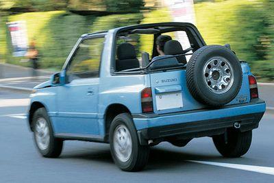 Suzuki Escudo Convertible