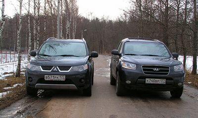 Mitsubishi Outlander VS Hyundai Santa Fe