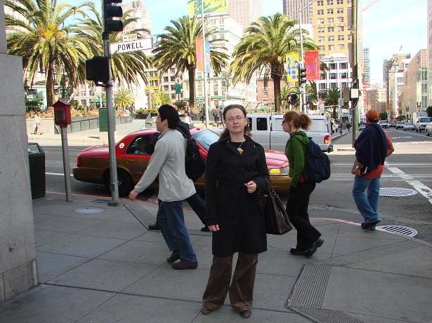 Юнион Скуер – площадь в старом центре Сан-Франциско