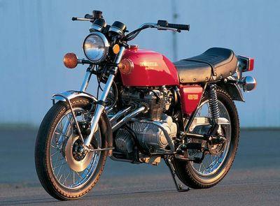 Honda CB400F, 1975