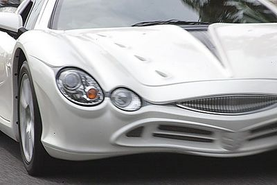 Автомобиль Mitsuoka Orochi, что в переводе означает «большой змей».