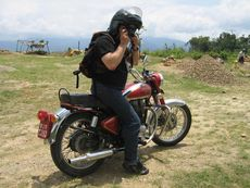 Азиатское путешествие байкера Синуса