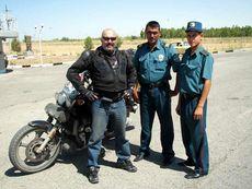 Узбекские гаишники