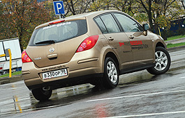 Tiida тоже является формой усиления... позиций Nissan на европейском и российском рынках.