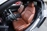 Сидения Audi R8.