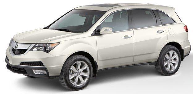 Acura MDX 2011 - отзыв владельца