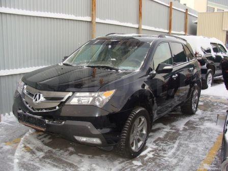Acura MDX 2008 - отзыв владельца