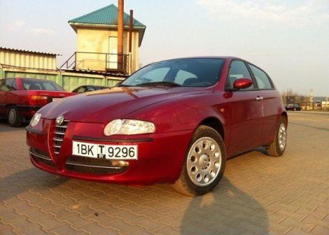 Alfa Romeo 147 2001 - отзыв владельца
