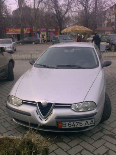 Alfa Romeo 156 2000 отзыв автора | Дата публикации 28.06.2011.