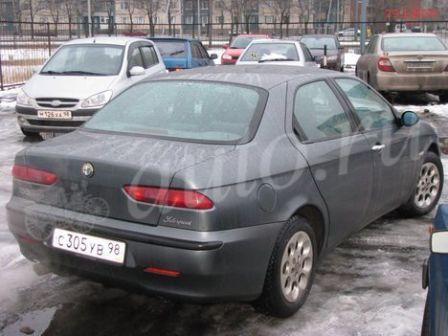 Alfa Romeo 156 2001 - отзыв владельца