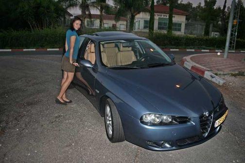 Alfa Romeo 156 2004 - отзыв владельца