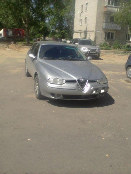 Alfa Romeo 156 2003 - отзыв владельца