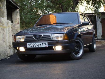 Alfa Romeo 75 1989 - отзыв владельца