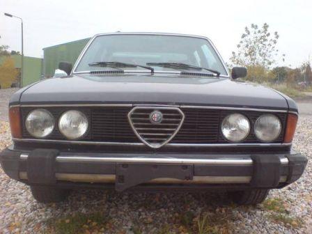 Alfa Romeo Alfa Romeo 1981 - отзыв владельца