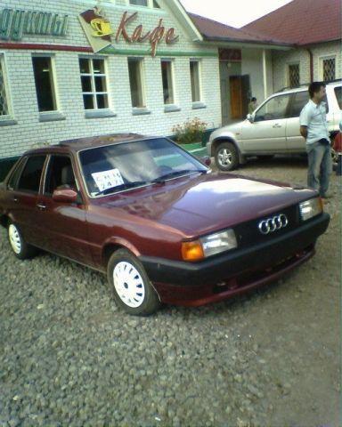 Audi 80, 1985