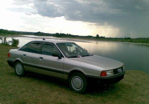 Audi 80 1987 - отзыв владельца