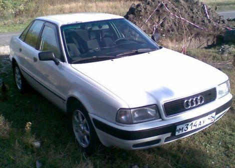 Audi 80 1993 - отзыв владельца