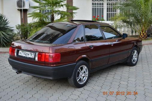 Audi 80 1988 - отзыв владельца