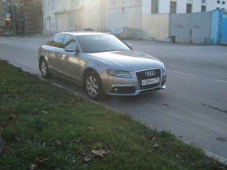 Audi A4 2011 - отзыв владельца