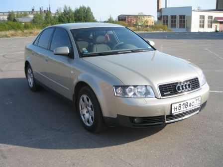 Audi A4 2002 - отзыв владельца