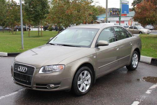 Audi A4 2007 - отзыв владельца