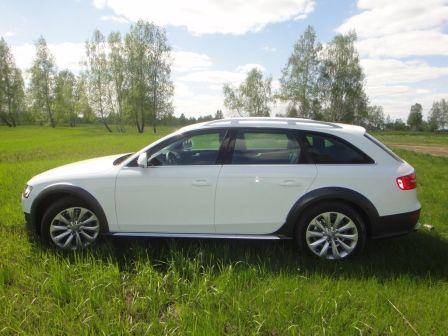 Audi A4 allroad quattro 2012 - отзыв владельца