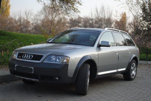Audi A6 allroad quattro 2001 - отзыв владельца