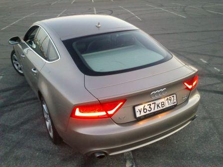 Audi A7 2010 - отзыв владельца