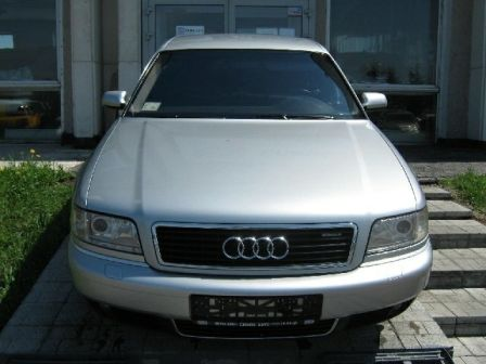 Audi A8 2002 - отзыв владельца