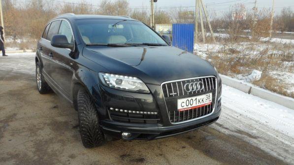 Audi Q7  - отзыв владельца