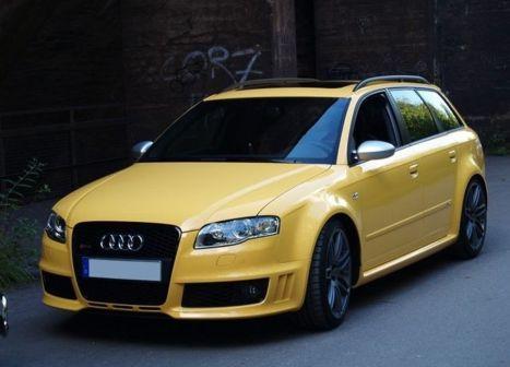 Audi RS4 2006 - отзыв владельца