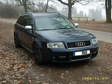 Audi RS6, 2002