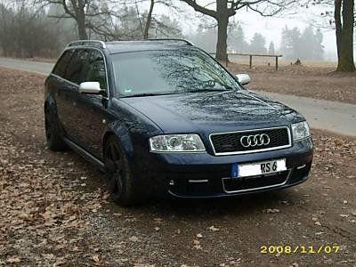 Audi RS6 2002 - отзыв владельца