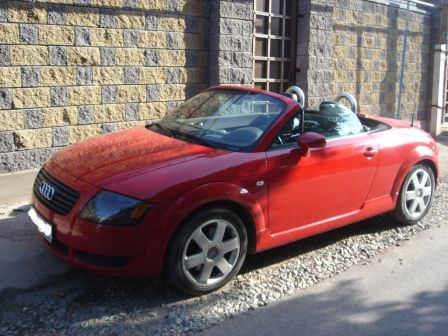 Audi TT 2001 - отзыв владельца