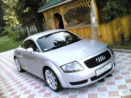 Audi TTS 2003 - отзыв владельца