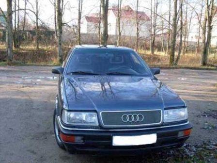Audi V8 1992 - отзыв владельца