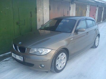 BMW 1-Series 2005 - отзыв владельца