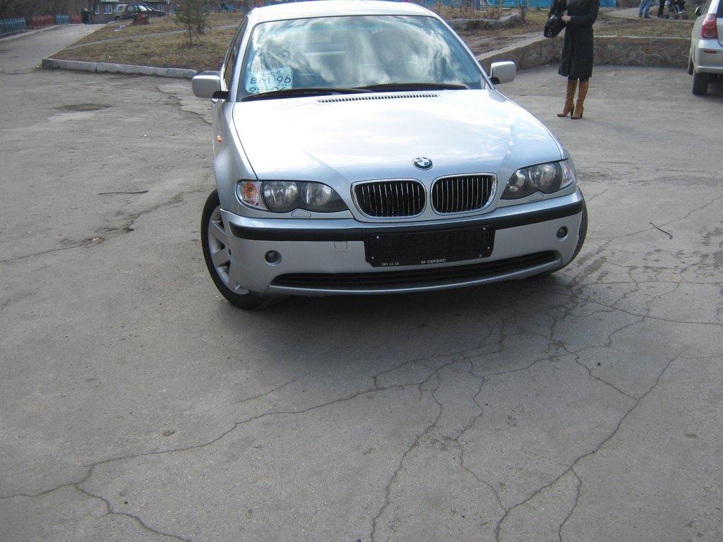 bmw 320 d купе 2002 года