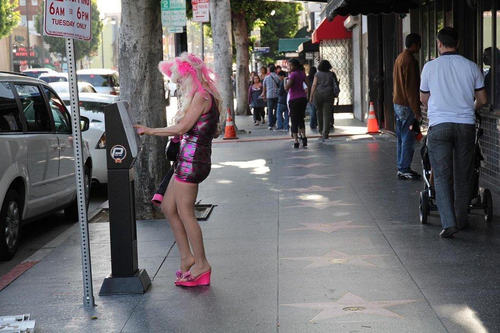 Проститутки лос анджелеса груди смотреть