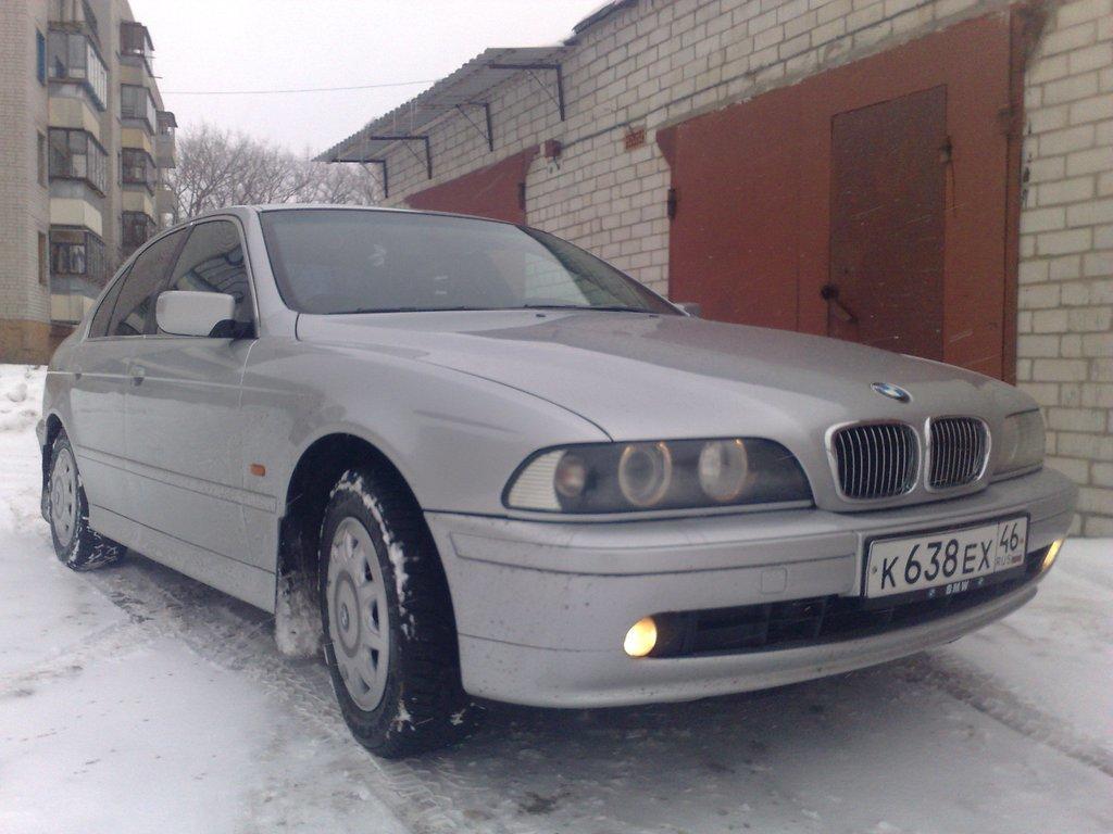 bmw 525 германия 2001 год