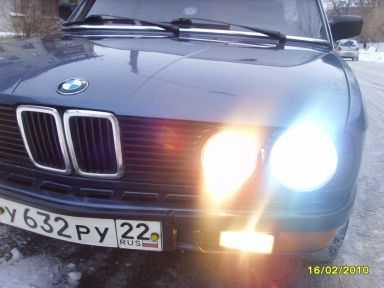 BMW 5-Series, 1986