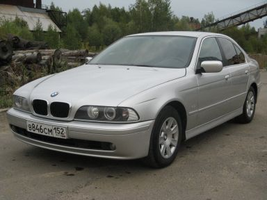 BMW 5-Series 2001 отзыв автора | Дата публикации 07.04.2012.