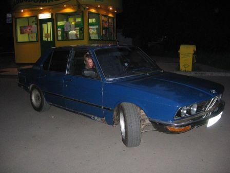BMW 5-Series 1980 - отзыв владельца