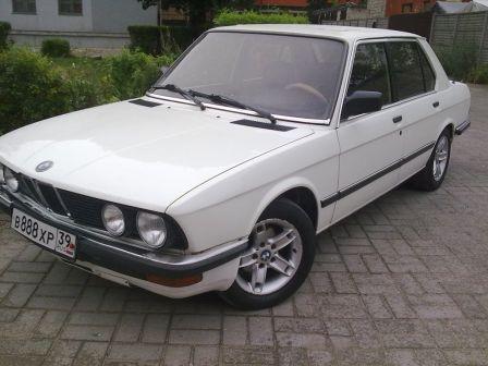 BMW 5-Series 1987 - отзыв владельца