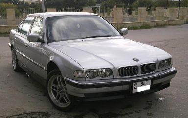 BMW 7-Series 1999 отзыв автора | Дата публикации 06.05.2012.