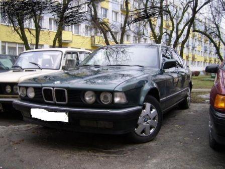 BMW 7-Series 1990 - отзыв владельца